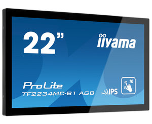 iiyama ProLite TF2234MC (21.5''), Projected Capacitive, 10 TP, Full HD