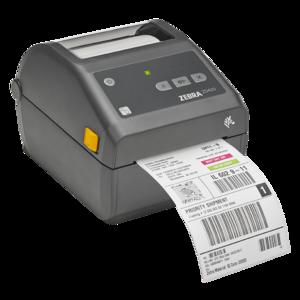 Zebra ZD420d,  8 dots/mm, USB, Grey