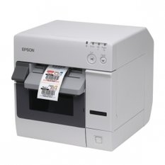 Epson ColorWorks C3400, cutter, Ethernet, NiceLabel, white