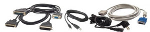 Parallel printer cable black