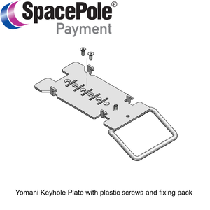 SpacePole MultiGrip platta för Yomani