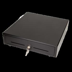 Maken MK-410 kassalåda, svart, 24v