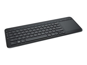 Microsoft All-in-One Media Keyboard - With Integrated Multi-Touch Trackpad