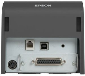 Epson TM-T70II, Serial + Built-in USB, PS, Black, EU