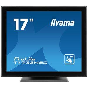 iiyama ProLite T1732MSC, 43.2 cm (17''), Projected Capacitive, 10 TP, black