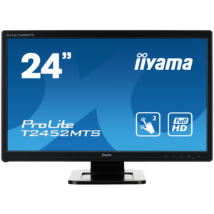 iiyama ProLite T2452MTS, 60cm (23,6''), Optical Multitouch, Full HD, black