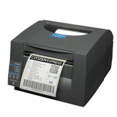 Citizen CL-S703R, 12 dots/mm (300 dpi), rewinder, MS, ZPLII, Datamax, multi-IF (Ethernet, Premium)