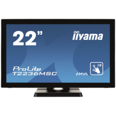 iiyama ProLite T2236MSC, 54.6cm (21.5''), Projected Capacitive, 10 TP, Full HD, black