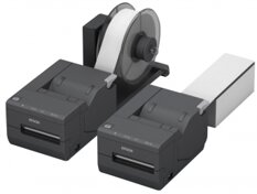 Epson TM-L500A Ticket, 8 dots/mm (203 dpi), cutter, Dual-IF, dark grey