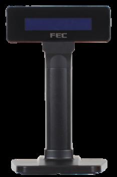 FEC LCD-Kunddisplay för Panel PC