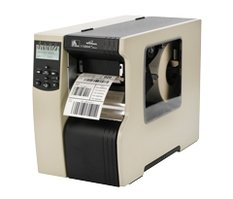Zebra 110Xi4, 12 dots/mm (300 dpi), peeler, rewind, ZPLII, multi-IF, print server
