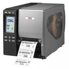 TSC TTP-644MT, 24 dots/mm (600 dpi), RTC, display, TSPL-EZ, USB, RS232, LPT, Ethernet