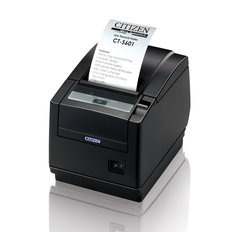 Citizen CT-S601, RS232, sax, Svart