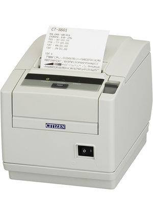 Citizen CT-S601, USB, 8 dots/mm (203 dpi), cutter, white