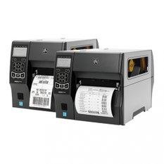 Zebra ZT410, 8 dots/mm (203 dpi), peeler, rewinder, RTC, display, EPL, ZPL, ZPLII, USB, RS232, BT, Ethernet