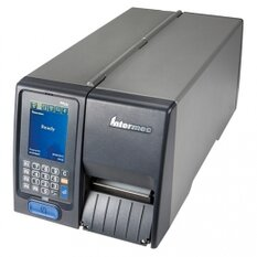 Honeywell PM23c, Long Door, 8 dots/mm (203 dpi), rewinder, LTS, disp., ZPL, IPL, USB, RS232, Ethernet