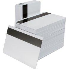 Zebra plastkort med HiCo magnetremsa
