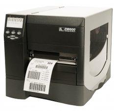 Zebra ZM600 int. Rewind/Peel-Combi