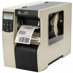 Zebra R110Xi4, 24 dots/mm (600 dpi), peeler, rewinder, RFID, ZPLII, multi-IF (Ethernet)
