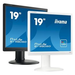 iiyama ProLite B1980SD, 48.3 cm (19''), white