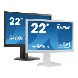 iiyama ProLite B2280WSD, 55.9 cm (22''), black