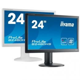 iiyama ProLite B2480HS, 60cm (23,6''), Full HD, white