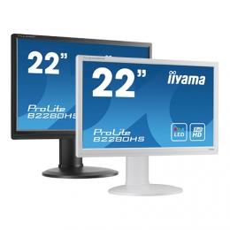 iiyama ProLite E2280WSD, 55.9 cm (22''), black