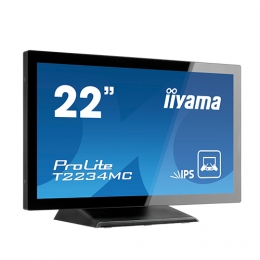 iiyama ProLite T2236MSC-B2AG, AG, 54.6cm (21.5''), Projected Capacitive, 10 TP, Full HD, black