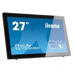 iiyama ProLite T2736MSC-B1, 68,6 cm (27''), Projected Capacitive, 10 TP, Full HD, black