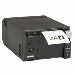 Epson TM-T70II-DT, USB, RS232, Ethernet, PosReady 7, black