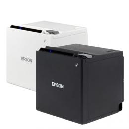Epson TM-m30, USB, BT, Ethernet, 8 dots/mm (203 dpi), ePOS, white