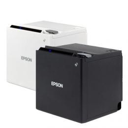 Epson TM-m30, USB, Ethernet, Wi-Fi, 8 dots/mm (203 dpi), ePOS, white