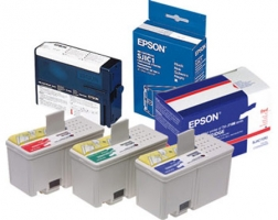 Epson ink cartridges, green