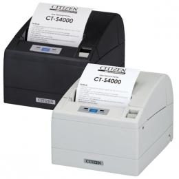 Citizen CT-S4000, USB, RS232, 8 dots/mm (203 dpi), cutter, black