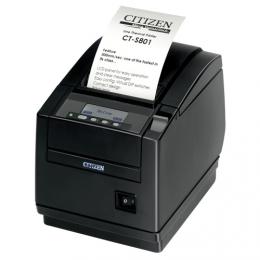 Citizen CT-S801II, BT, 8 dots/mm (203 dpi), cutter, display, black