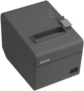 Epson TM-T20II, USB, RS232, 8 dots/mm (203 dpi), cutter, black