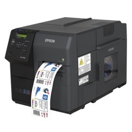 Epson ColorWorks C7500, cutter, disp., USB, Ethernet, black