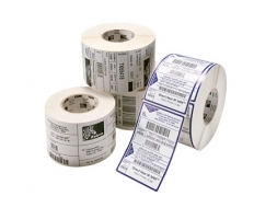 label roll, synthetic, 57x32mm