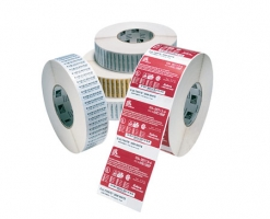 label roll, thermal paper, 76x76mm