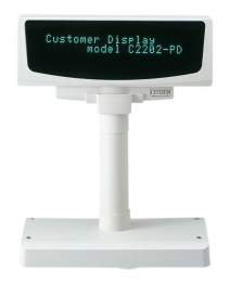 Citizen Customer Display C2202-PD, kit (RS232), black, RS232