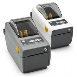 Zebra ZD410, 8 dots/mm (203 dpi), MS, RTC, EPLII, ZPLII, USB, BT (BLE, 4.1), Wi-Fi, white