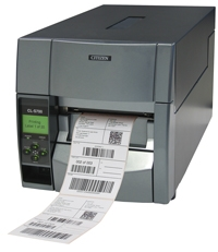 Citizen CL-S703R, 12 dots/mm (300 dpi), rewinder, MS, ZPLII, Datamax, multi-IF (Ethernet)