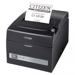 Citizen CT-S310II LAN, Dual-IF, 8 dots/mm (203 dpi), cutter, black