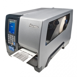 Honeywell PM43c, dome door, 8 dots/mm (203 dpi), rewinder, LTS, multi-IF (Ethernet)